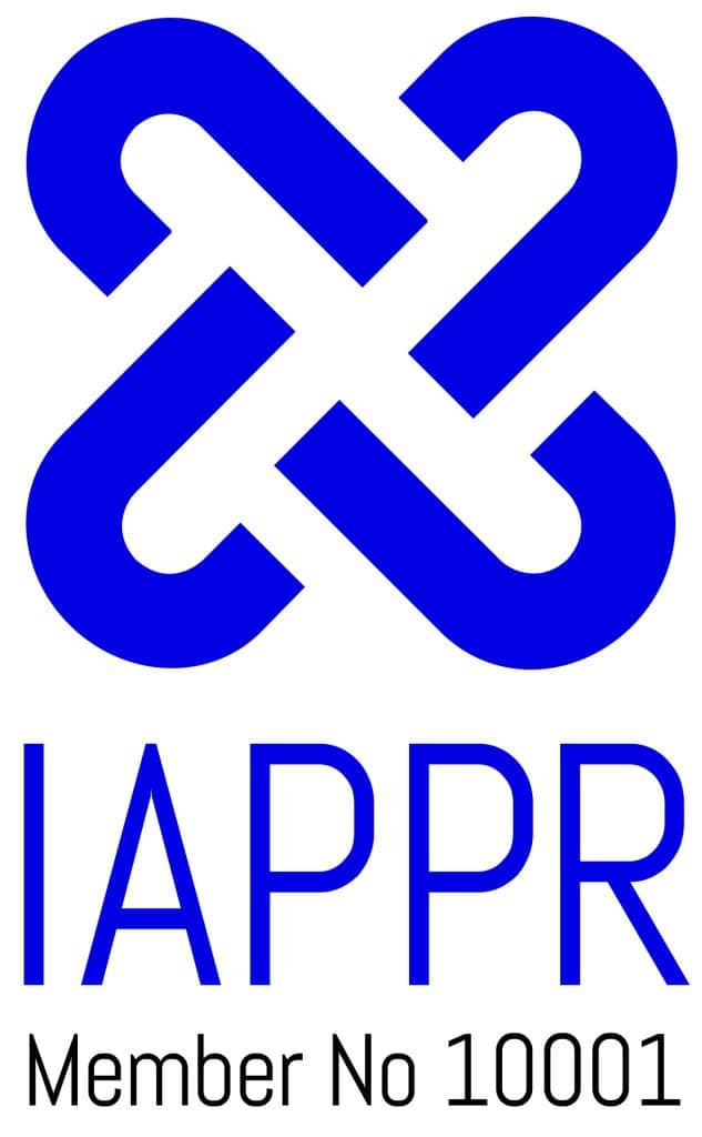 IAPPR logo with member no