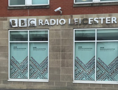 IAPPR-Vorsitzender im BBC-Radio Leicester mit Ben Jackson